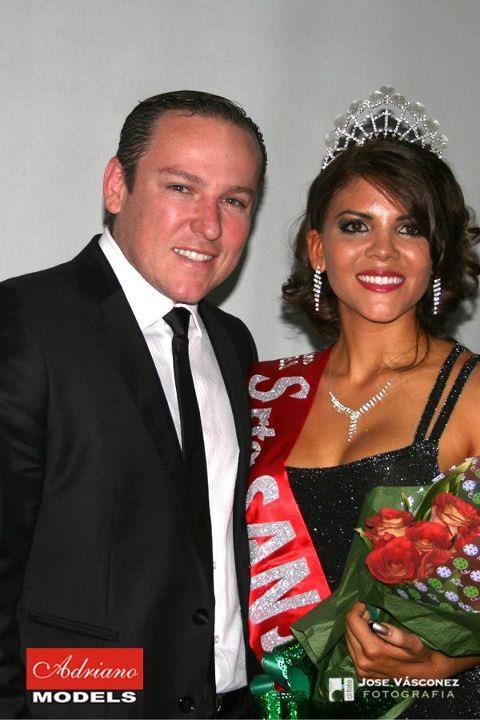 Nueva Señorita San José y Dr. Eric Rojas