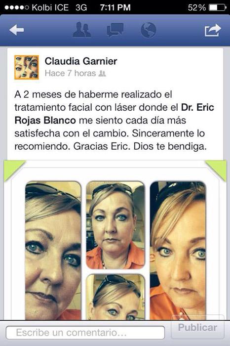 Feliz de ver el comentario de la Sra Claudia Garnier ex Miss Costa Rica 1977