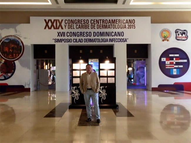 Muy orgulloso de ser parte del grupo de profesores invitados al Congreso Centroamericano y del Caribe de Dermatología 2015.