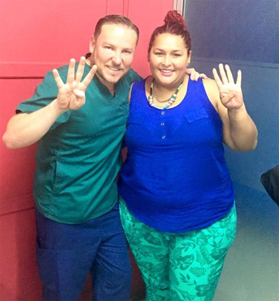 8 KILOS Cristina Chavarria y yo SÚPER FELICES