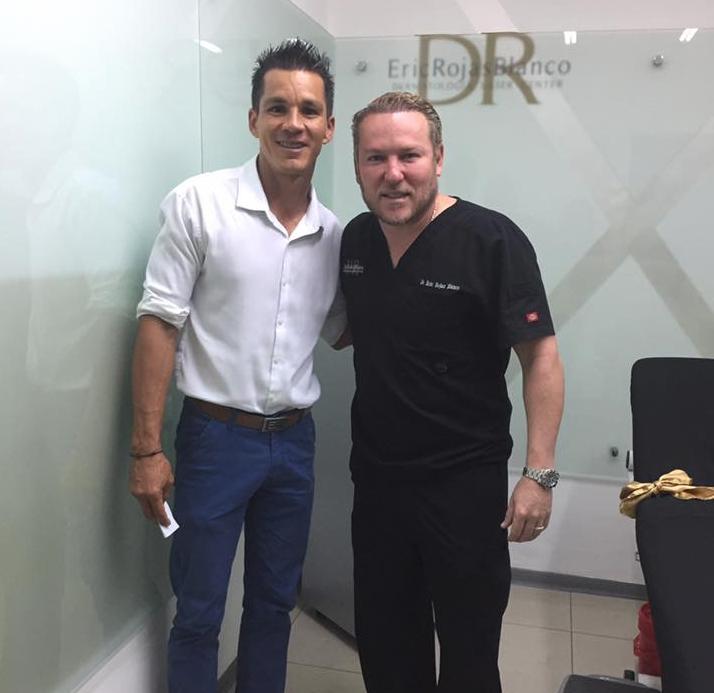 Feliz de tener entre nuestros pacientes al GUARDAMETA Y AHORA ENTRENADOR DE PORTEROS WARDY ALFARO
