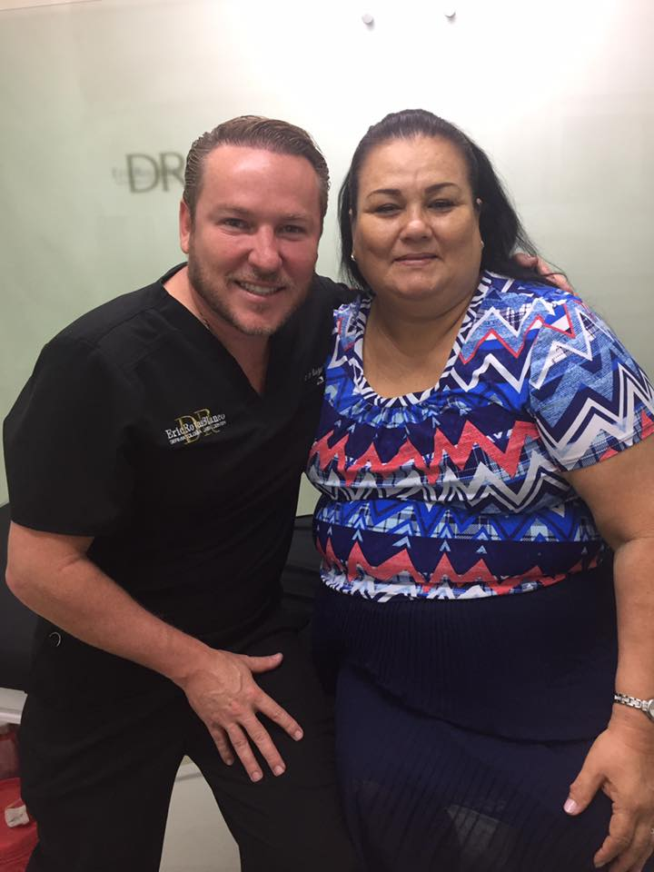 Feliz con poder devolver a doña Yeannethe Mora en un mes la ÚLCERA CERRADA
